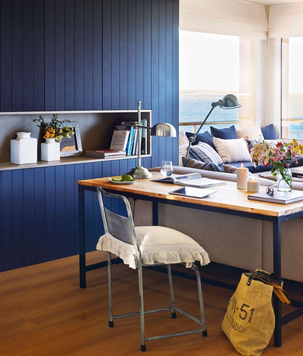 adelaparvu.com despre apartament in stil marin, design interior MM Estudi si Gemma Mateos, Foto ElMueble (5)
