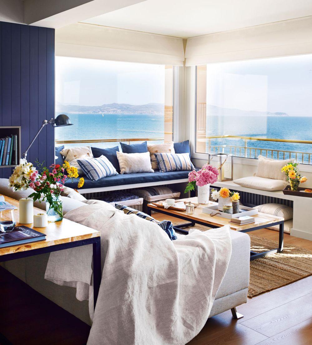 adelaparvu.com despre apartament in stil marin, design interior MM Estudi si Gemma Mateos, Foto ElMueble (6)