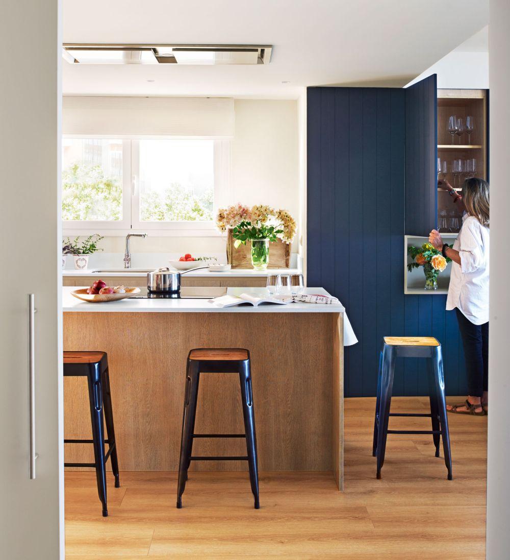 adelaparvu.com despre apartament in stil marin, design interior MM Estudi si Gemma Mateos, Foto ElMueble (9)