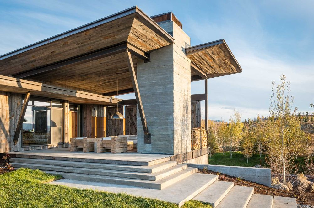 adelaparvu.com despre casa de vacanta montana in Wyoming, design Pearson Design Group (24)