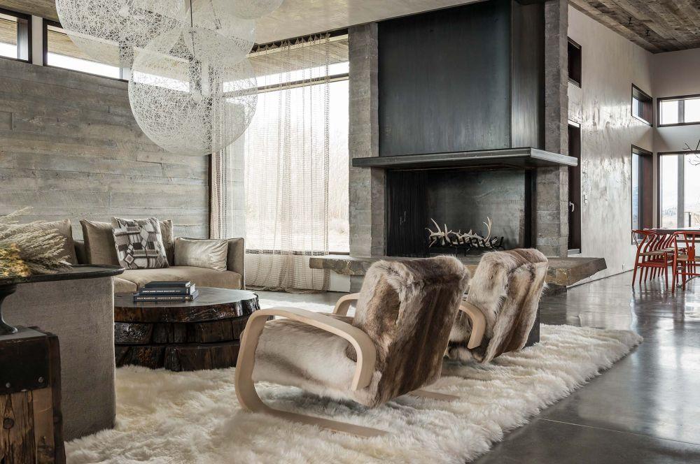 adelaparvu.com despre casa de vacanta montana in Wyoming, design Pearson Design Group (26)