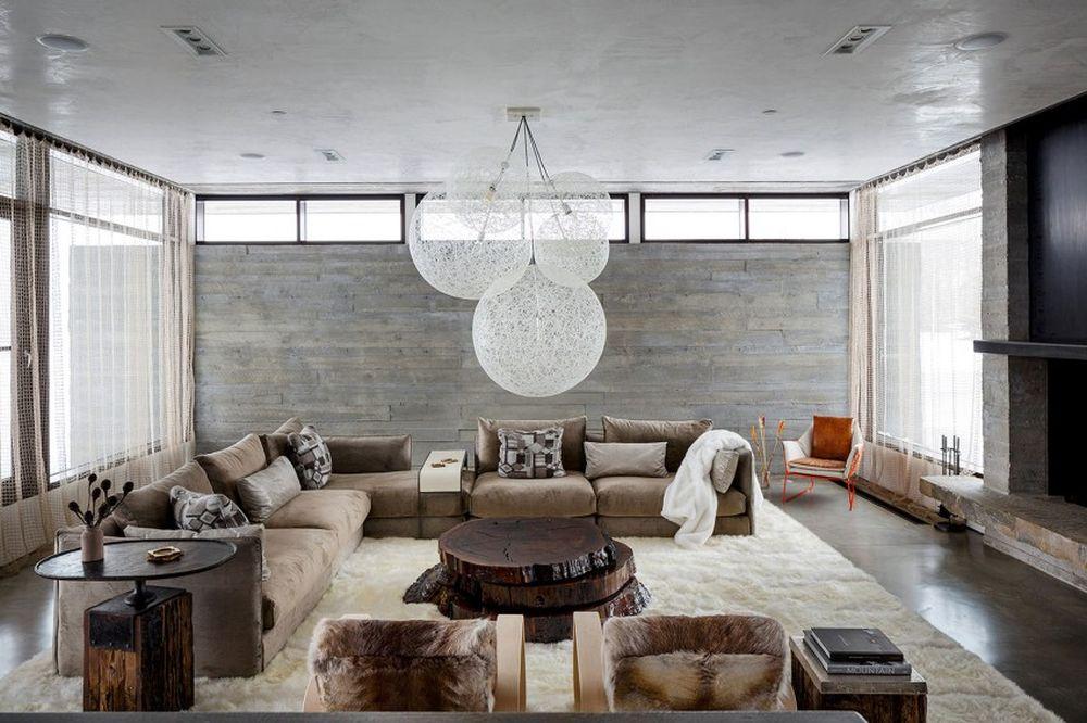 adelaparvu.com despre casa de vacanta montana in Wyoming, design Pearson Design Group (8)