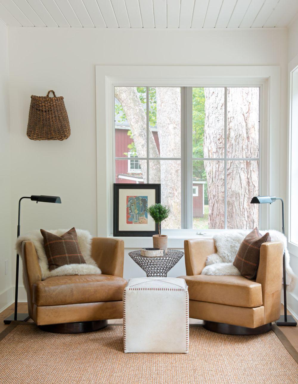 adelaparvu.com despre casa din lemn cu interior rustic actual, Design Kelly Mittleman, arch Mark Finlay, Foto Jane Beiles (16)