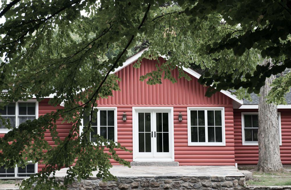 adelaparvu.com despre casa din lemn cu interior rustic actual, Design Kelly Mittleman, arch Mark Finlay, Foto Jane Beiles (7)