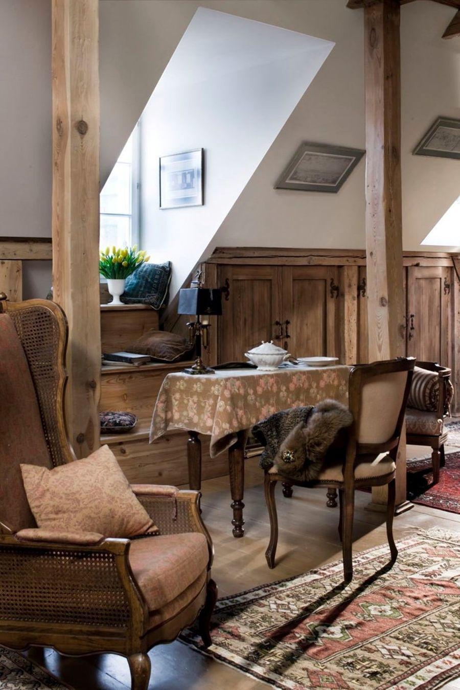 adelaparvu.com despre mansarda romantica, stil rustic, Design PrzepisnaDom, Foto Rafal Lipski (4)