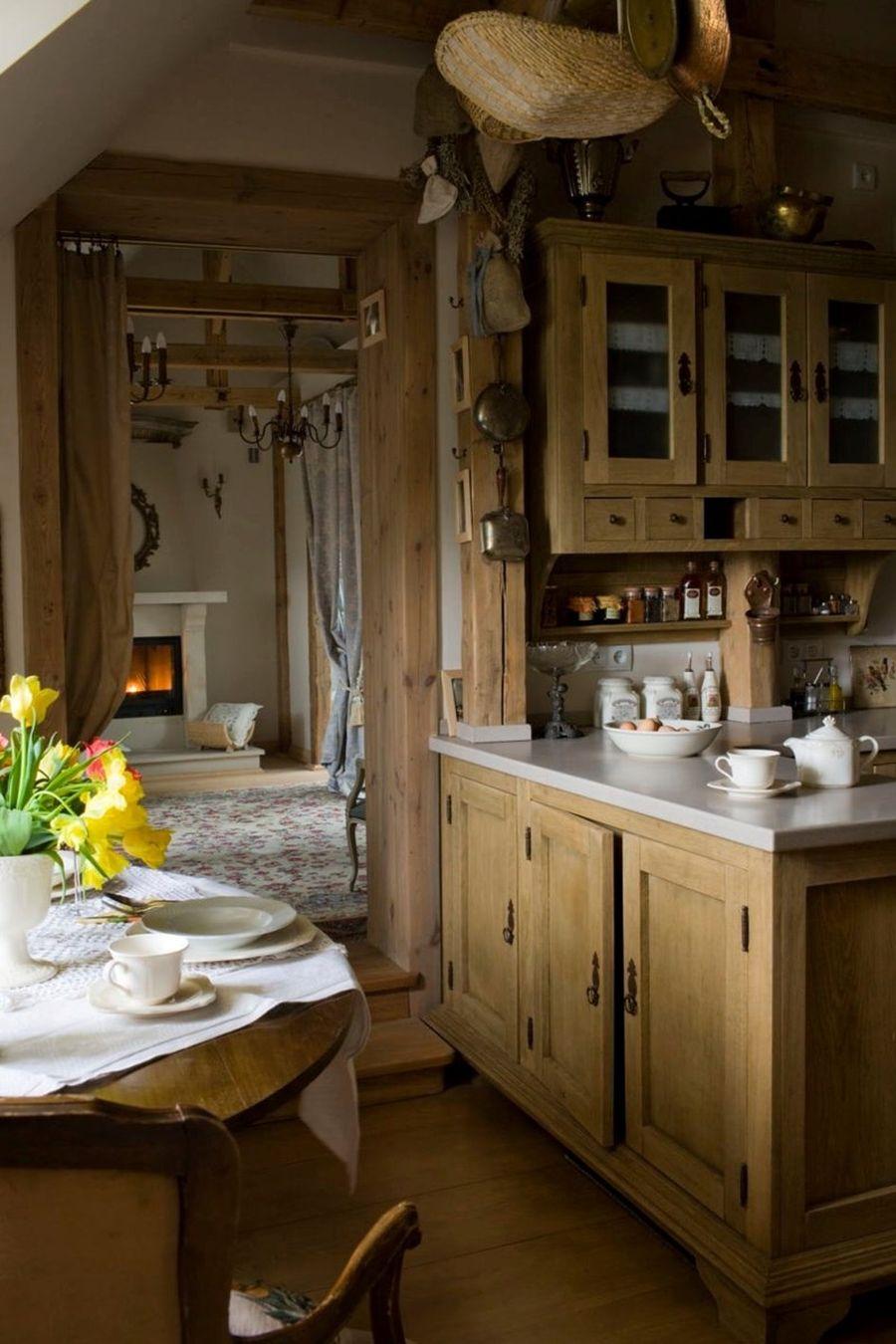 adelaparvu.com despre mansarda romantica, stil rustic, Design PrzepisnaDom, Foto Rafal Lipski (8)
