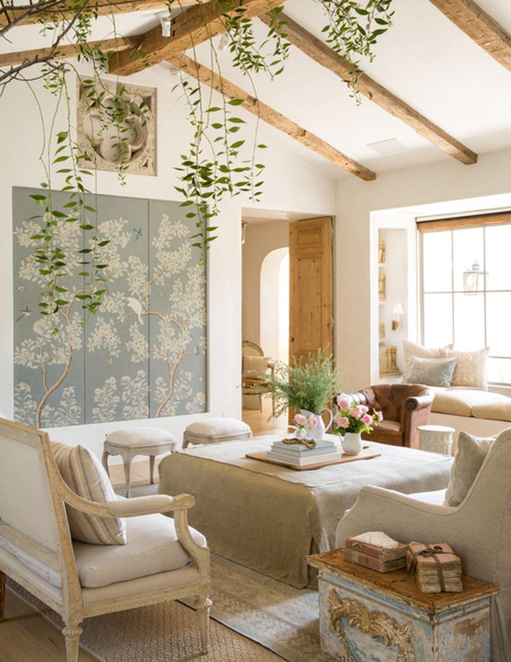 adelaparvu.com despre Patina Farm, California, living si sufragerie, arhitectura si design Giannetti Home (3)