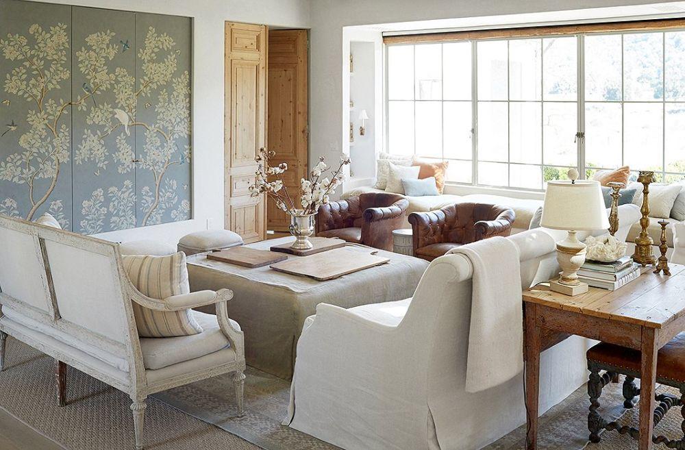 adelaparvu.com despre Patina Farm, California, living si sufragerie, arhitectura si design Giannetti Home (9)
