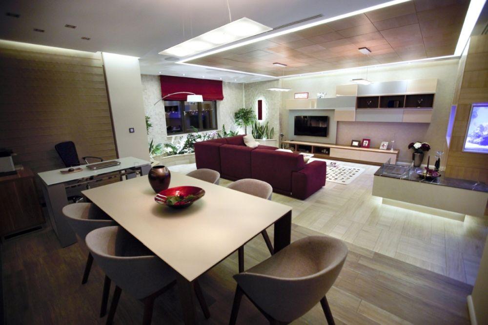 Ne dorim o locuință unde să avem loc pentru a ne invita prietenii. Apartament Primaverii design Toscu Daniela, Patrascu Madalin, Petre Claudiu