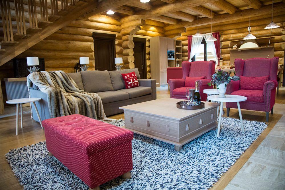 Ne dorim o casă de vacanță elegantă ca un chalet. Cabana la munte, design Genoveva Hossu