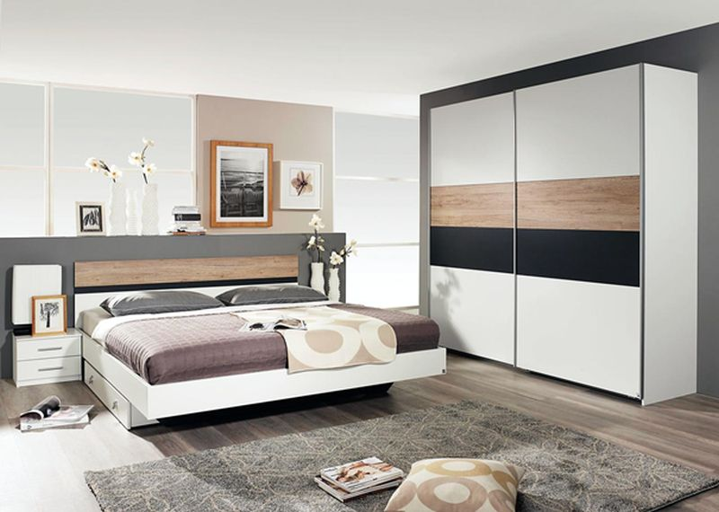 Set dormitor Canedo Include pat, dulap si 2 noptiere. 1489,- in loc de 1799 http://www.kika.com/ro/catalog/m/trenduri/black-friday/20827864/canedo/