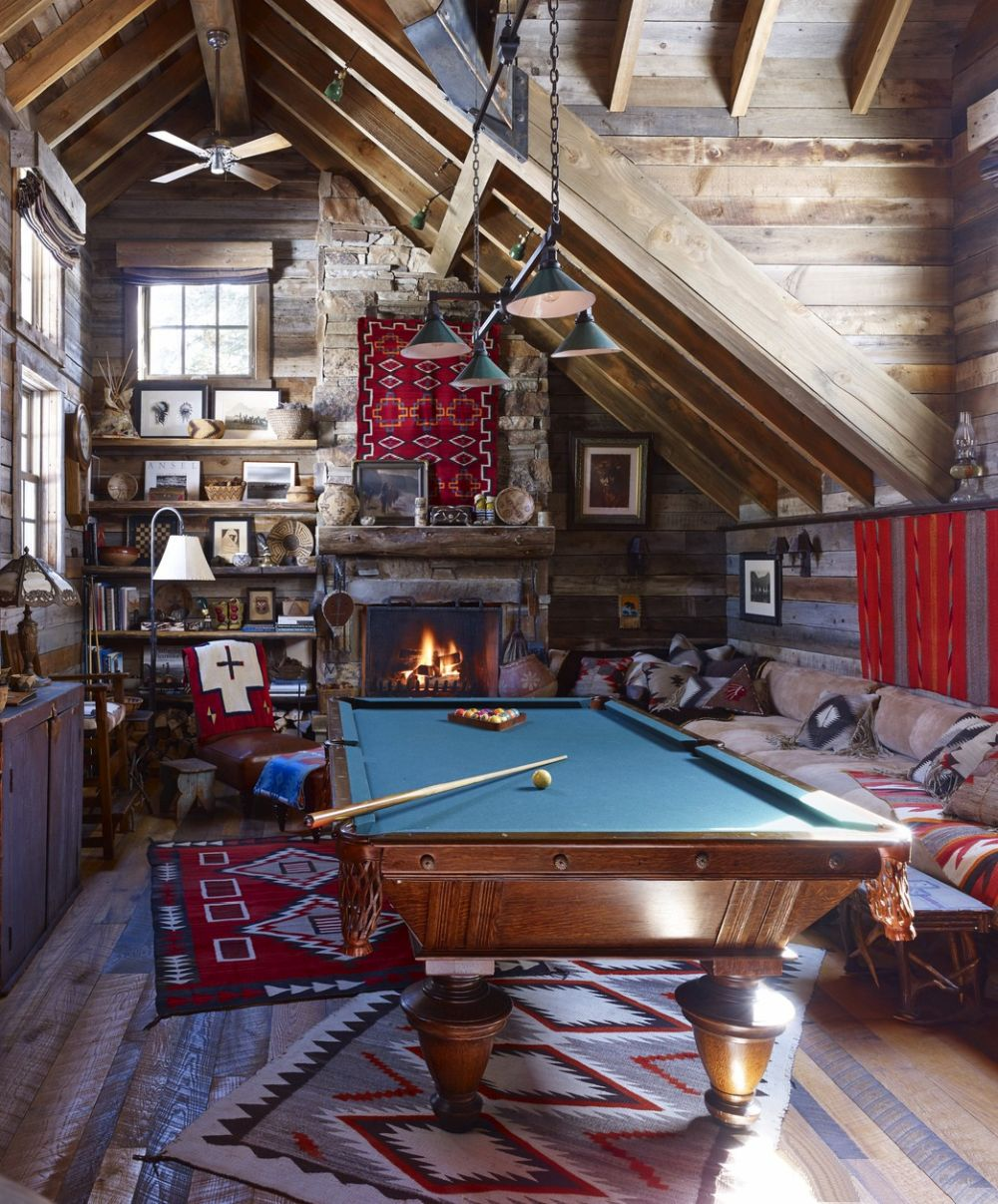 adelaparvu.com despre casa de vacanta la munte, Buffy Birrittella, Foto Elle Decor, Bjorn Wallander