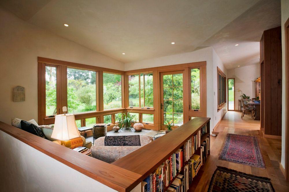 adelaparvu.com despre 30 solutii pentru separarea usii de la intrare, hol creat cu mobila si paravane, Foto 450 Architects