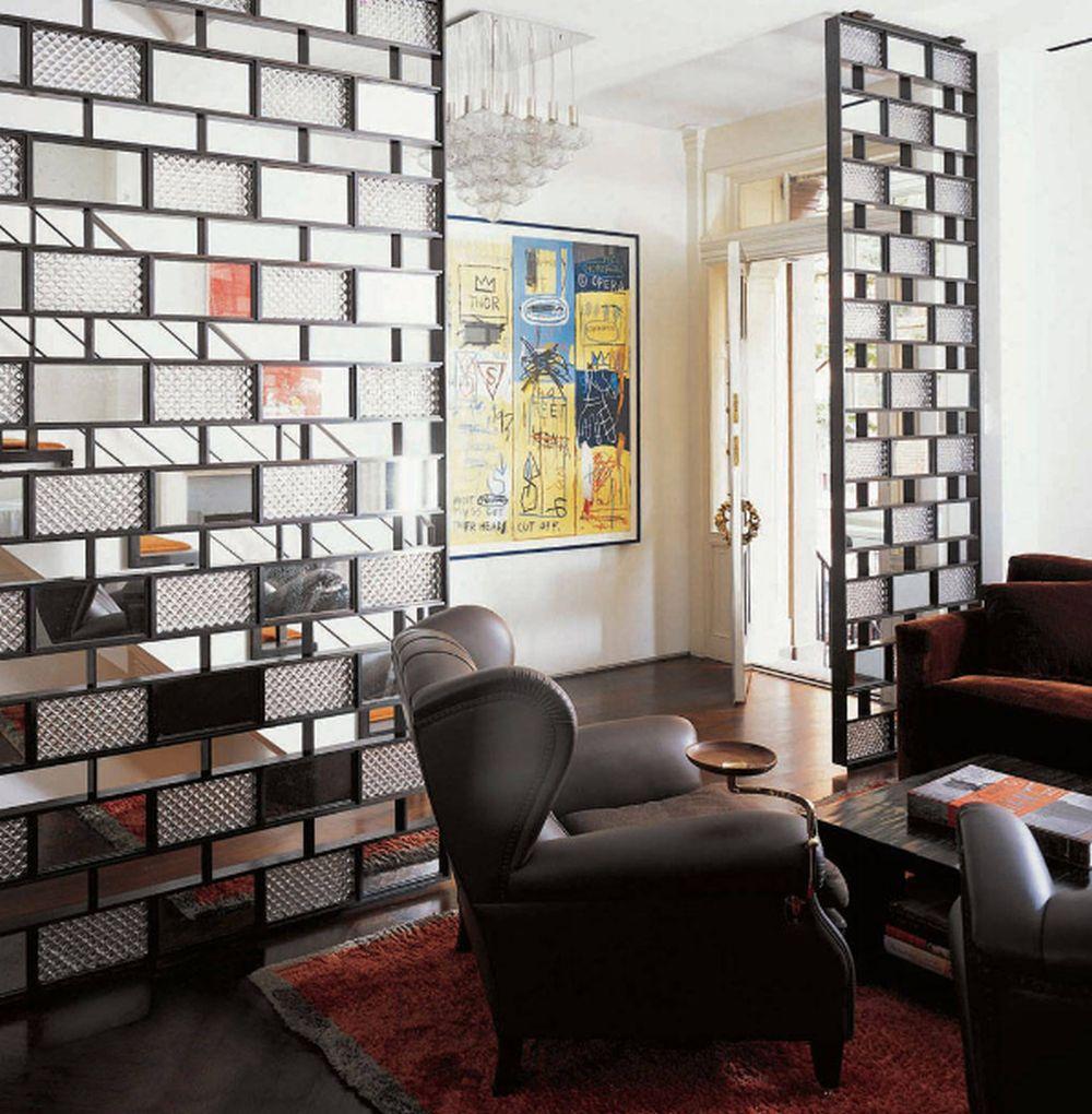 adelaparvu.com despre 30 solutii pentru separarea usii de la intrare, hol creat cu mobila si paravane, Foto Axis Mundi