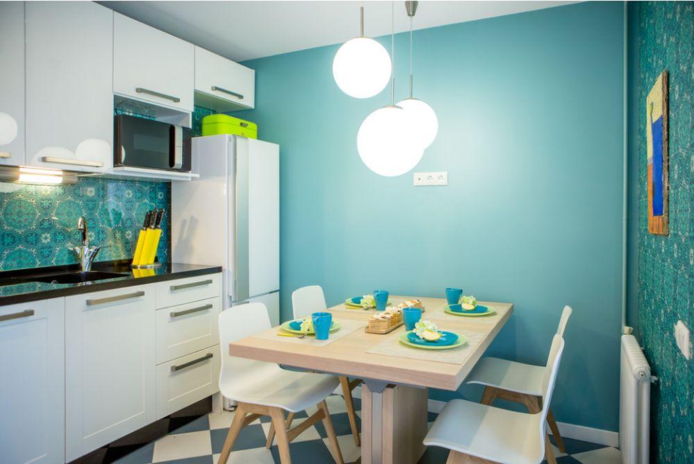 adelaparvu.com despre apartament 104 mp, 4 camere, Moscova, designer Maria Solovieva-Sosnowik, Foto Anna Kiseleva (1)