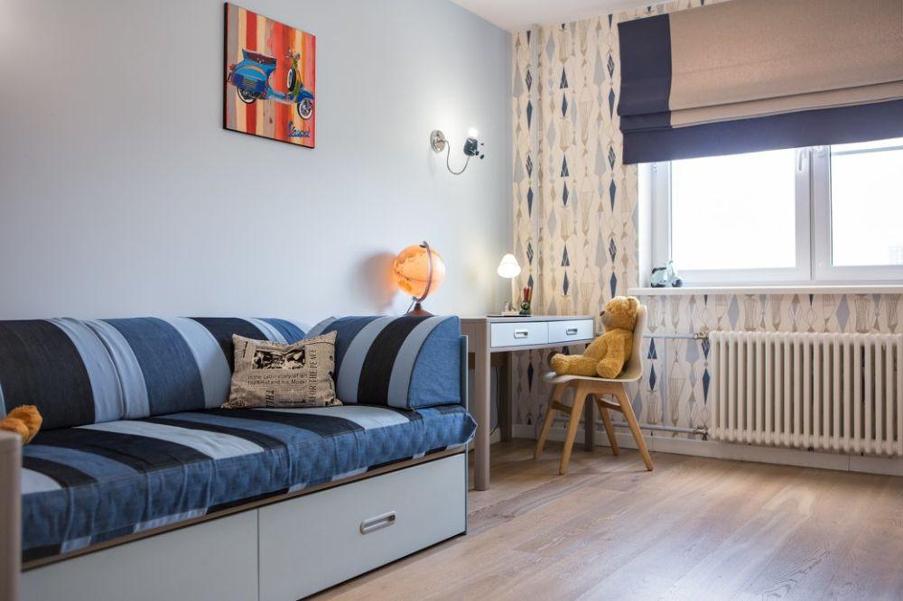 adelaparvu.com despre apartament 104 mp, 4 camere, Moscova, designer Maria Solovieva-Sosnowik, Foto Anna Kiseleva (13)