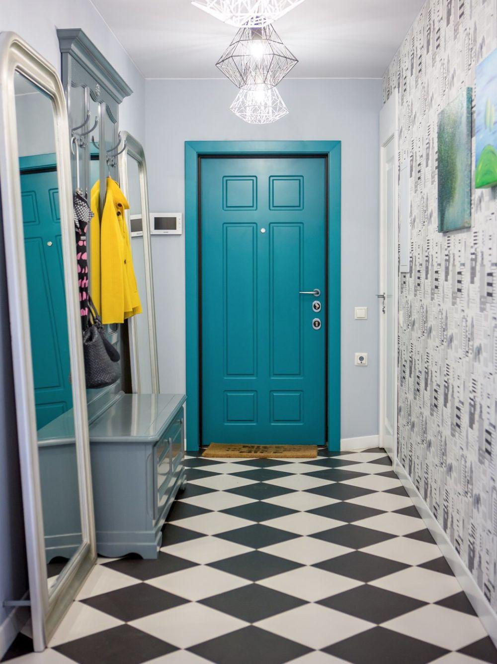 adelaparvu.com despre apartament 104 mp, 4 camere, Moscova, designer Maria Solovieva-Sosnowik, Foto Anna Kiseleva (18)