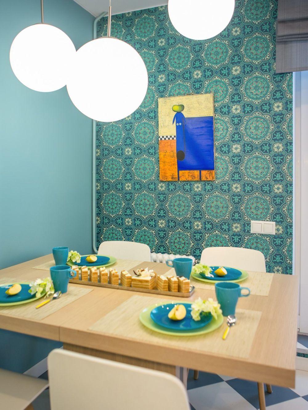 adelaparvu.com despre apartament 104 mp, 4 camere, Moscova, designer Maria Solovieva-Sosnowik, Foto Anna Kiseleva (20)