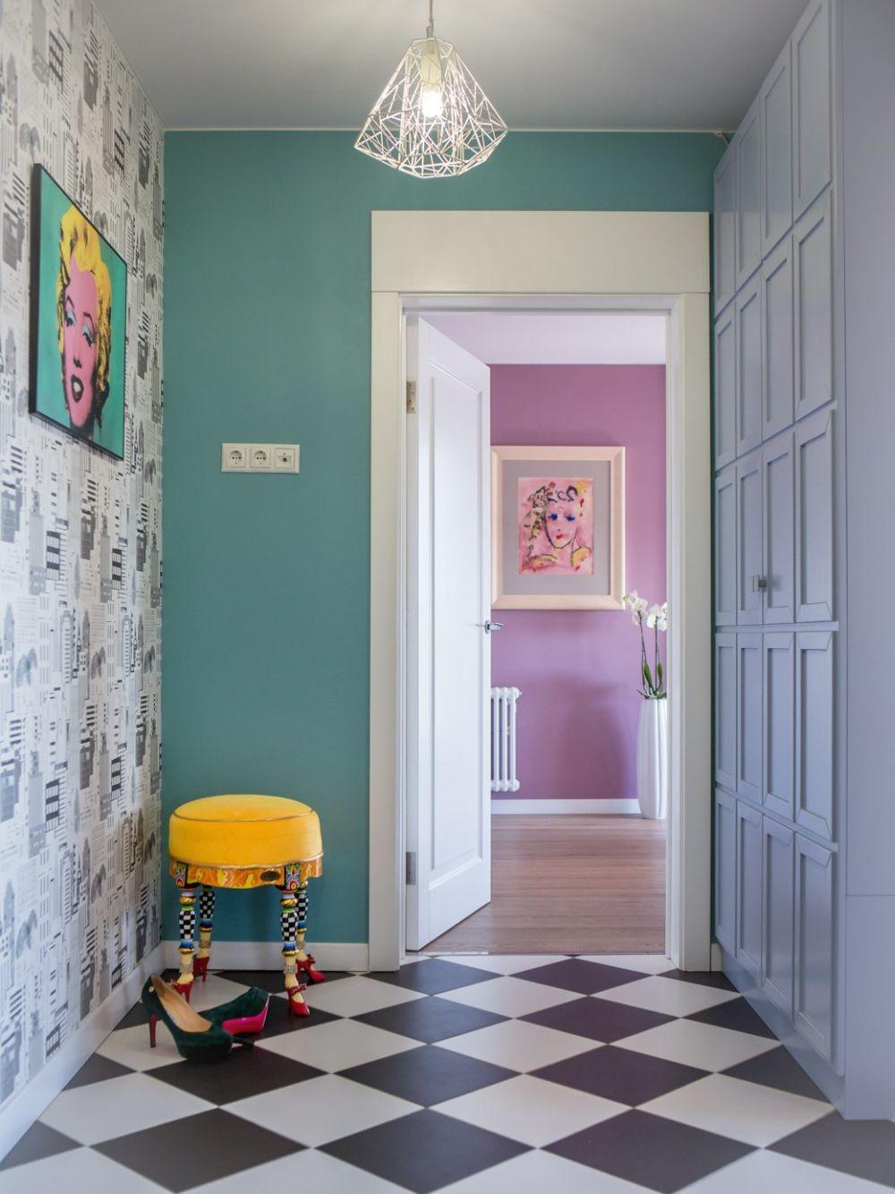 adelaparvu.com despre apartament 104 mp, 4 camere, Moscova, designer Maria Solovieva-Sosnowik, Foto Anna Kiseleva (27)