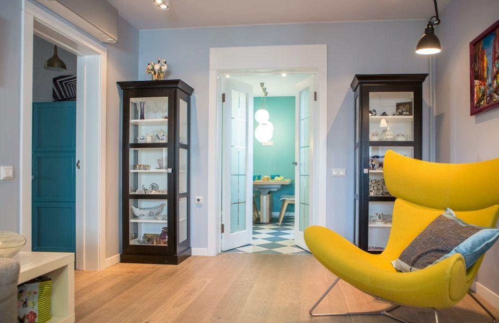 adelaparvu.com despre apartament 104 mp, 4 camere, Moscova, designer Maria Solovieva-Sosnowik, Foto Anna Kiseleva (8)