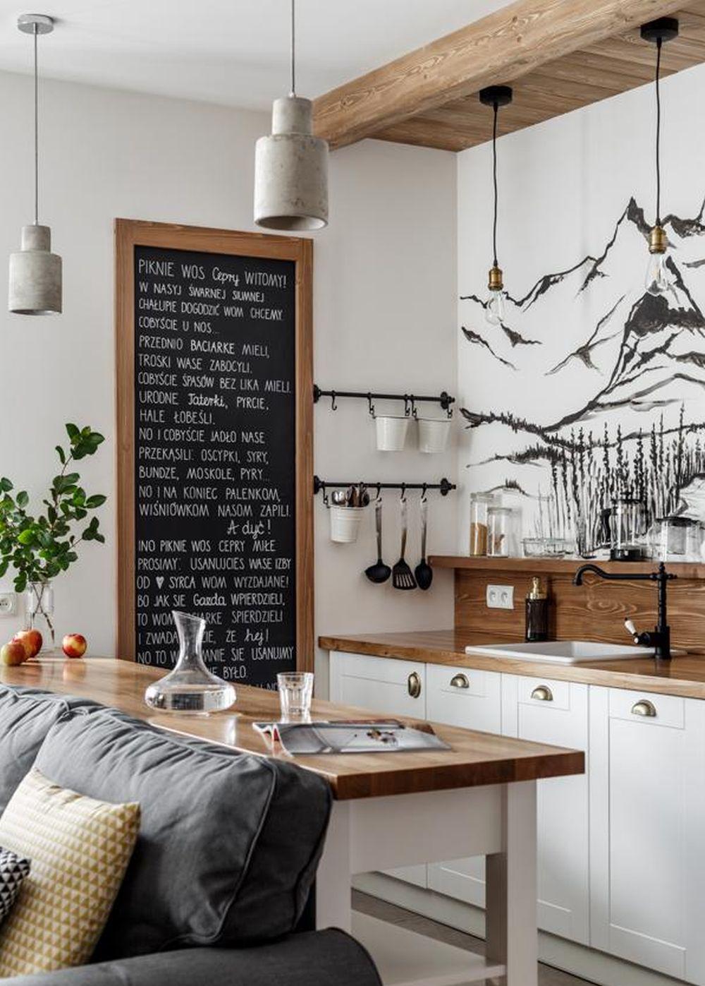 adelaparvu.com despre apartament 2 camere, 46 mp, in stil montan, Polonia, Foto TatryTop (1)