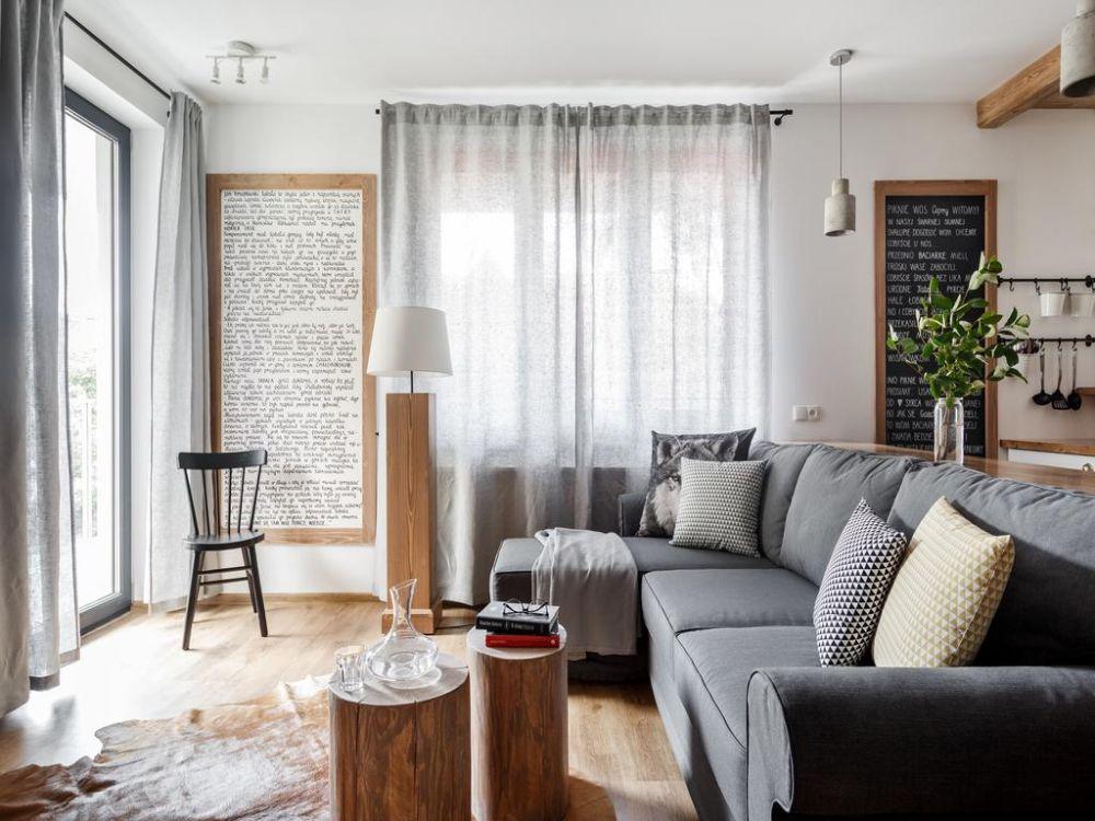 adelaparvu.com despre apartament 2 camere, 46 mp, in stil montan, Polonia, Foto TatryTop (3)