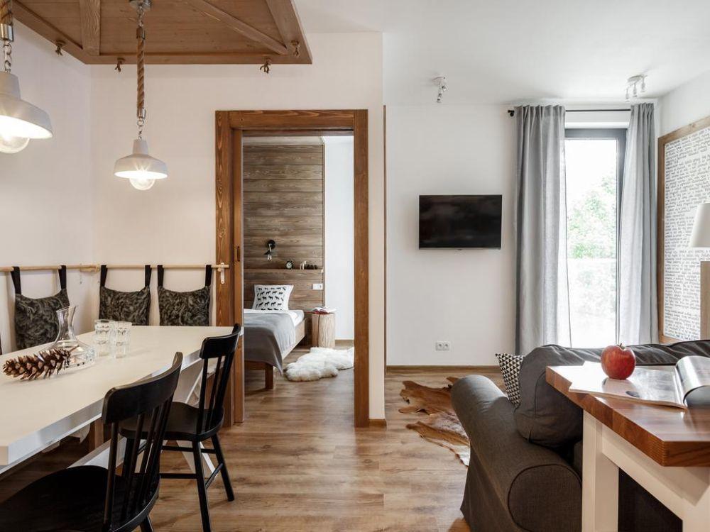 adelaparvu.com despre apartament 2 camere, 46 mp, in stil montan, Polonia, Foto TatryTop (7)