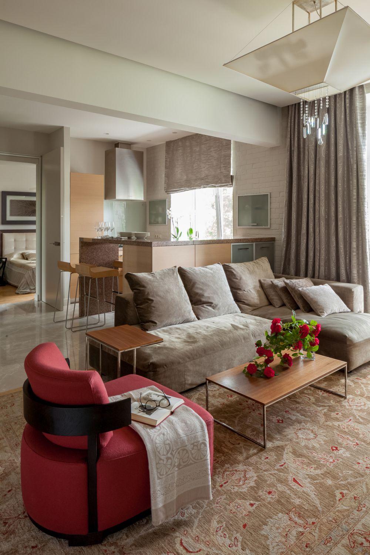 adelaparvu.com despre apartament de 3 camere, 82 mp, Moscova, Designer Xenia Turik (10)
