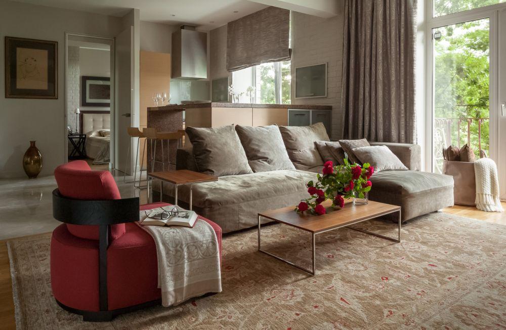 adelaparvu.com despre apartament de 3 camere, 82 mp, Moscova, Designer Xenia Turik (5)