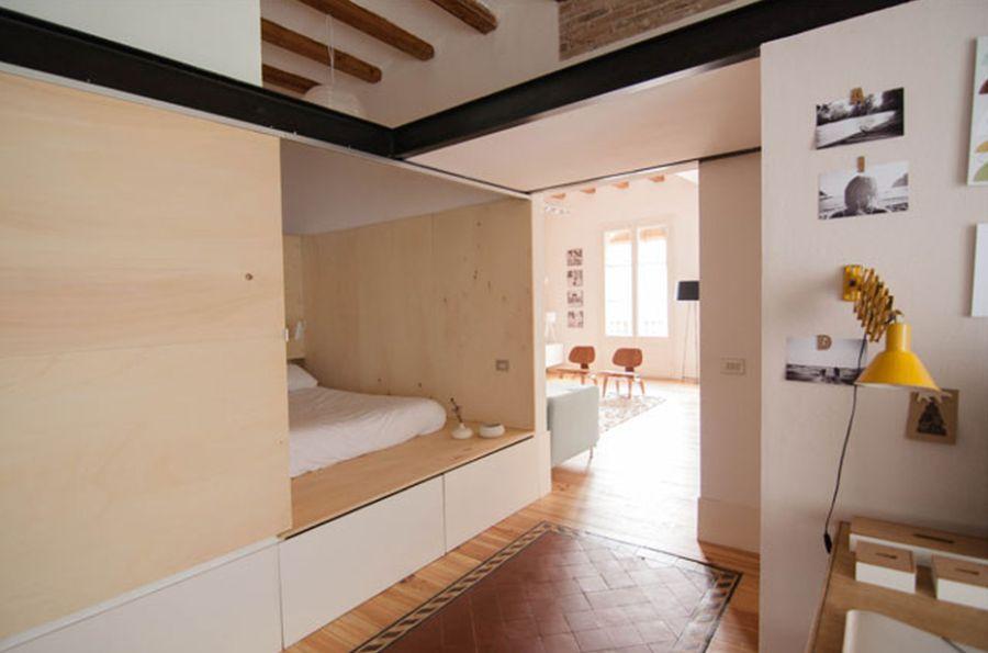adelaparvu.com despre apartament de 65 de mp, Barcelona, in stil scandinav, Design Neus Casanova, Degoma Studio, Foto ElMueble, Degoma Studio (18)
