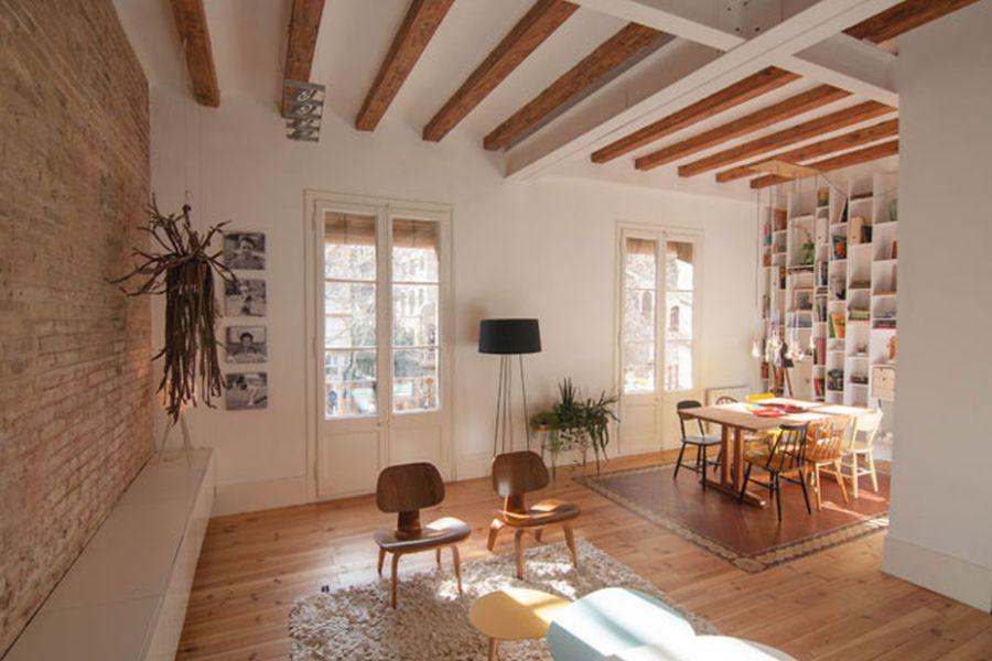 adelaparvu.com despre apartament de 65 de mp, Barcelona, in stil scandinav, Design Neus Casanova, Degoma Studio, Foto ElMueble, Degoma Studio (19)