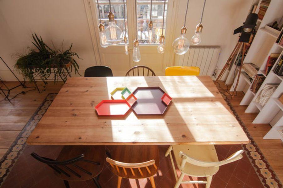 adelaparvu.com despre apartament de 65 de mp, Barcelona, in stil scandinav, Design Neus Casanova, Degoma Studio, Foto ElMueble, Degoma Studio (26)