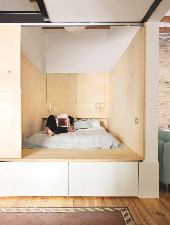 adelaparvu.com despre apartament de 65 de mp, Barcelona, in stil scandinav, Design Neus Casanova, Degoma Studio, Foto ElMueble, Degoma Studio (7)