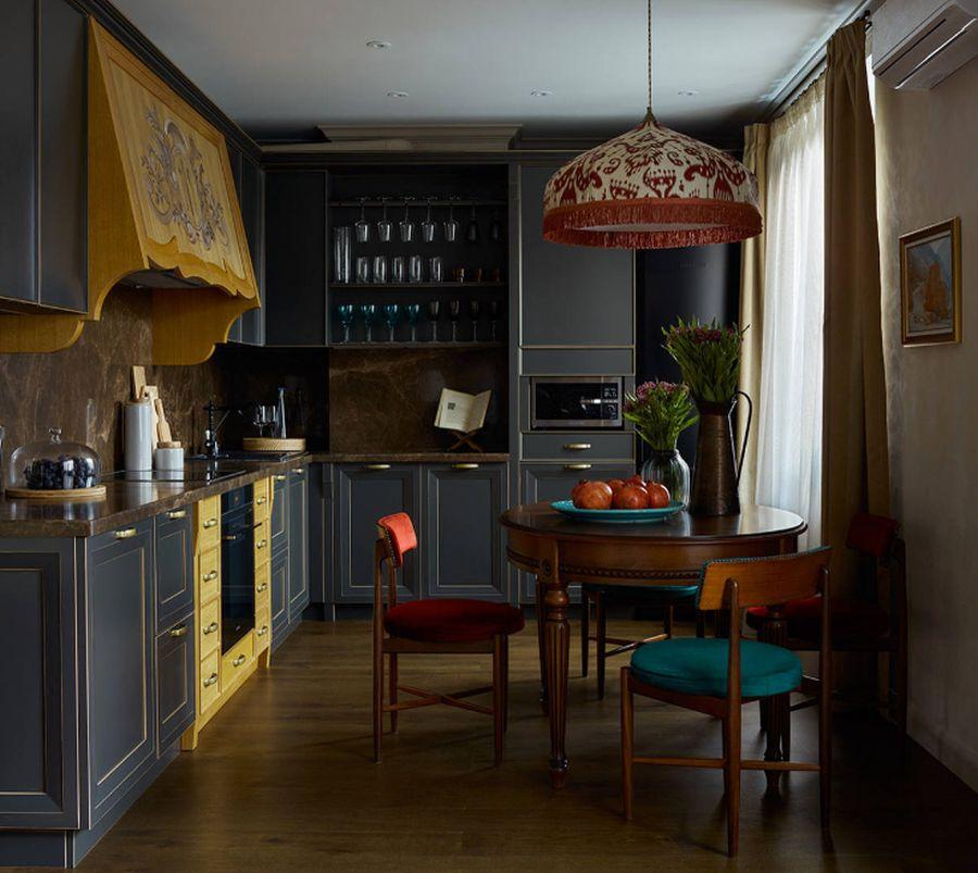 adelaparvu.com despre apartament de 93 mp,Moscova, Design Valery Belousov, Valery Design, Foto Sergey Ananiev (18)