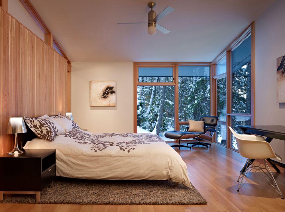 adelaparvu.com despre casa de vacanta contemporana, Design DeForest Architects, Foto Benjamin Benschneider (1)