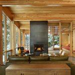 adelaparvu.com despre casa de vacanta contemporana, Design DeForest Architects, Foto Benjamin Benschneider (2)