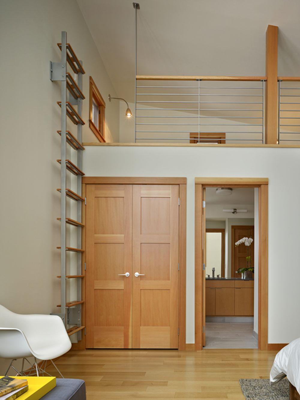 adelaparvu.com despre casa de vacanta contemporana, Design DeForest Architects, Foto Benjamin Benschneider (5)