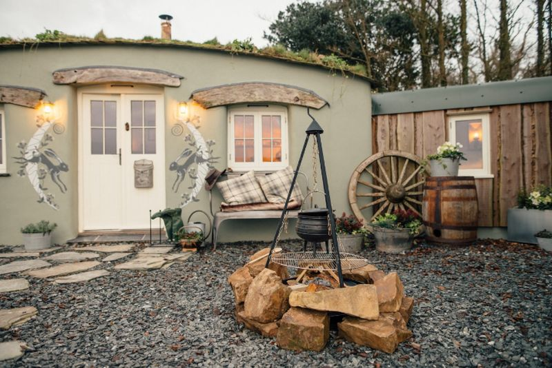 adelaparvu.com despre casa de vacanta cu carute anexate, casa Nomad, Marhamchurch, Cornwall, UK, Foto Unique Home Stays (15)