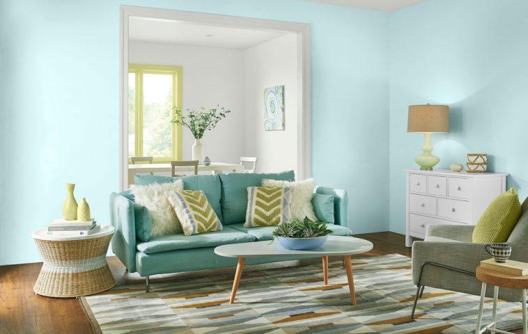 adelaparvu.com despre culorile anului 2017, Color Trends 2017, paleta Comfortable, Foto Behr (2)