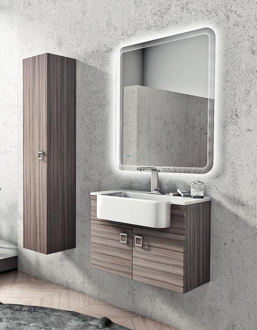 adelaparvu.com despre cum iti alegi mobila in baie, Foto Kika, model mobila Florida