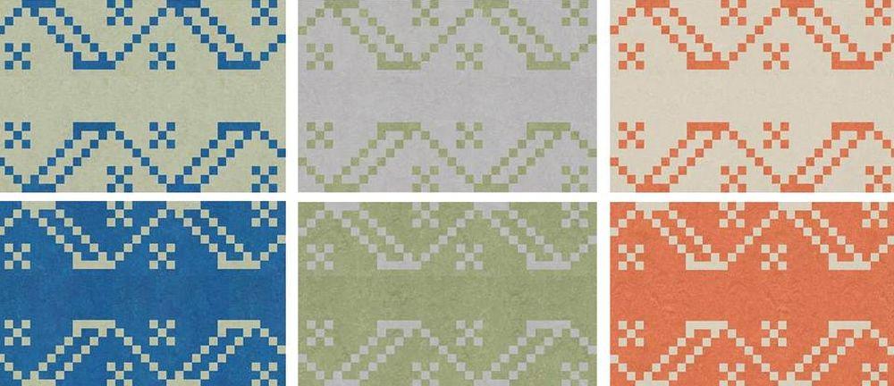 adelaparvu.com despre linoleum Forbo cu motive romanesti, colectia Folk, model Meadow, Campie design Dare to Rug