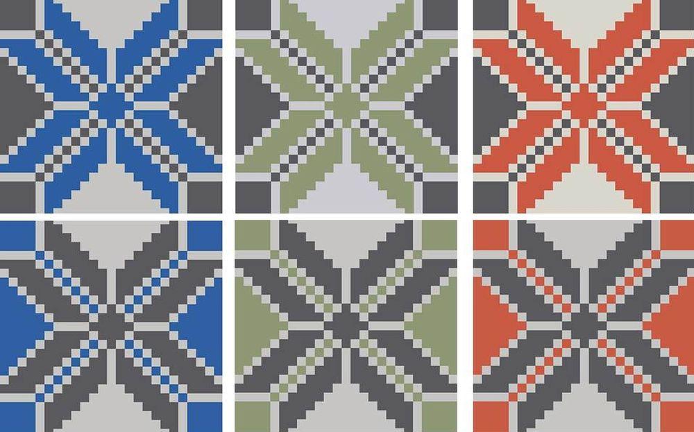 adelaparvu.com despre linoleum Forbo cu motive romanesti, colectia Folk, model Peony, Bujor, design Dare to Rug