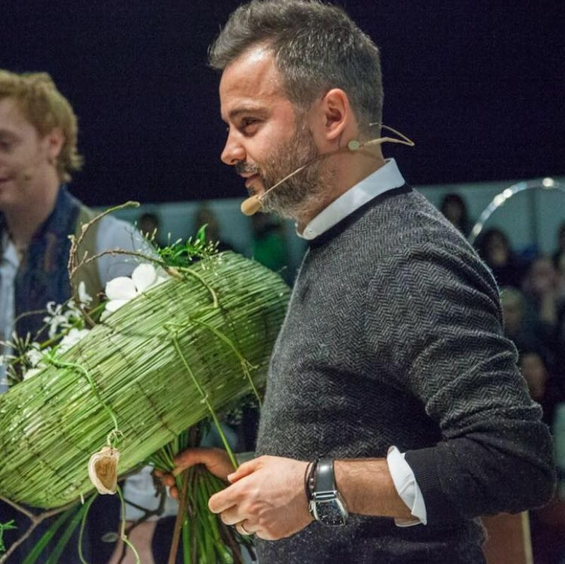adelaparvu.com despre workshop international de design floral, designer Nicu Bocancea, Foto Floraria Iris (1)