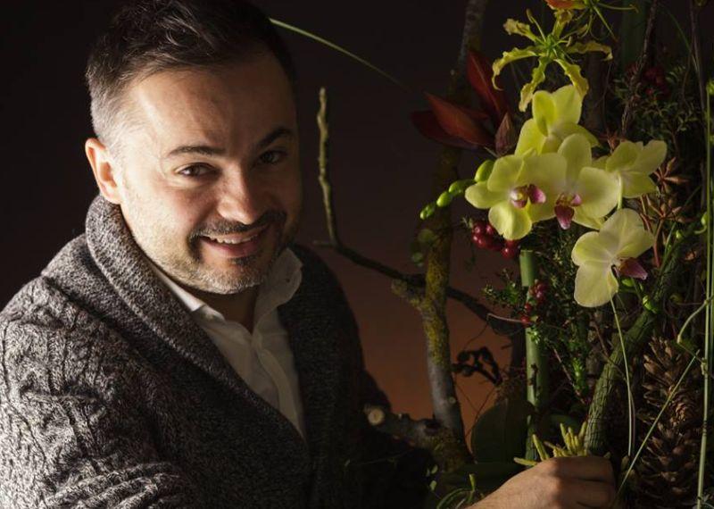 adelaparvu.com despre workshop international de design floral, designer Nicu Bocancea, Foto Floraria Iris (2)