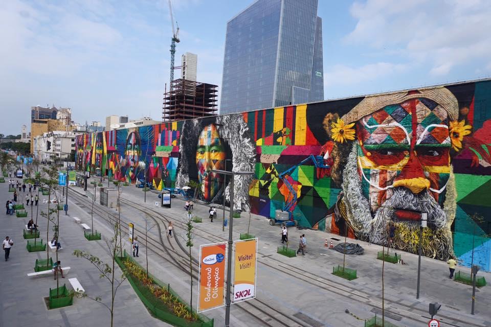 adelaparvu.com despre Eduardo Kobra artistul graffiti al oraselor, murala Indigenous (3)