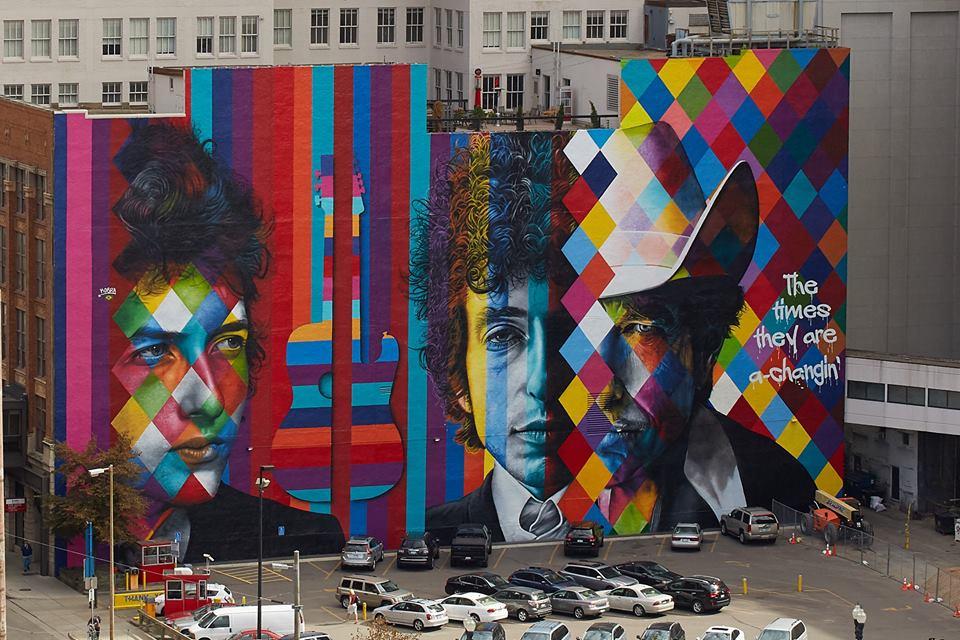 adelaparvu.com despre Eduardo Kobra artistul graffiti al oraselor, murala Philadelphia (2)