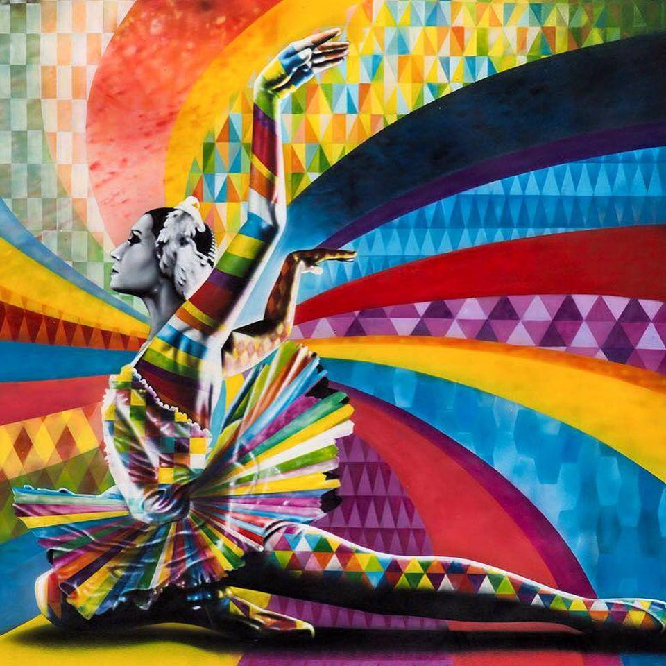 adelaparvu.com despre Eduardo Kobra artistul graffiti al oraselor, murala Rusia (1)