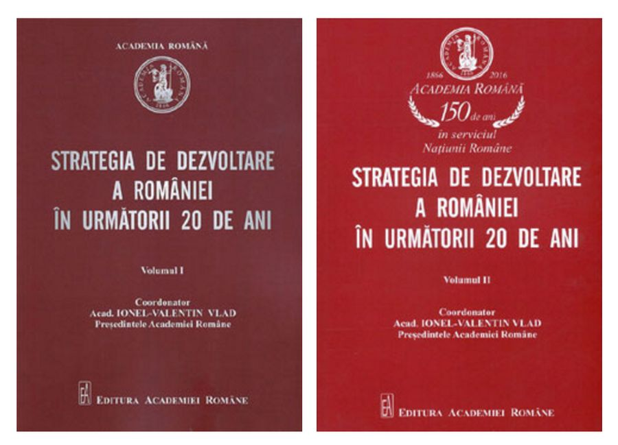 adelaparvu.com despre Strategia de Dezvoltare a Romaniei, Academia Romana, volumele 1 si 2