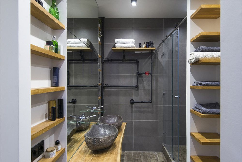 adelaparvu.com despre apartament in stil industrial, Moscova, designer Yevgeniya Razuvayeva, 9design, Foto Dean Alexandrov (1)