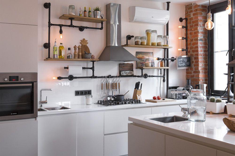 adelaparvu.com despre apartament in stil industrial, Moscova, designer Yevgeniya Razuvayeva, 9design, Foto Dean Alexandrov (15)